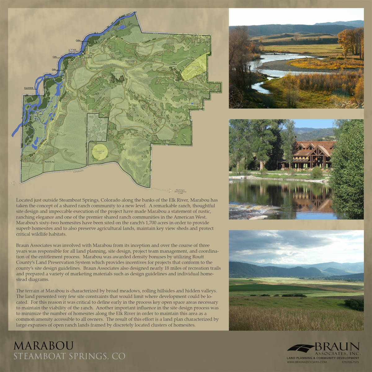 Marabou Ranch, Steamboat Springs CO